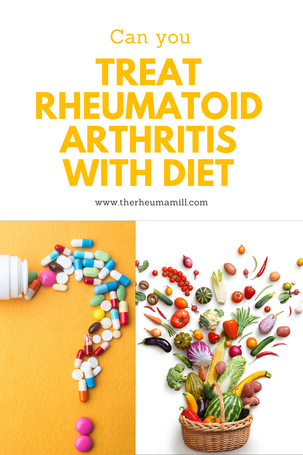 Can you treat rheumatoid arthritis with diet?