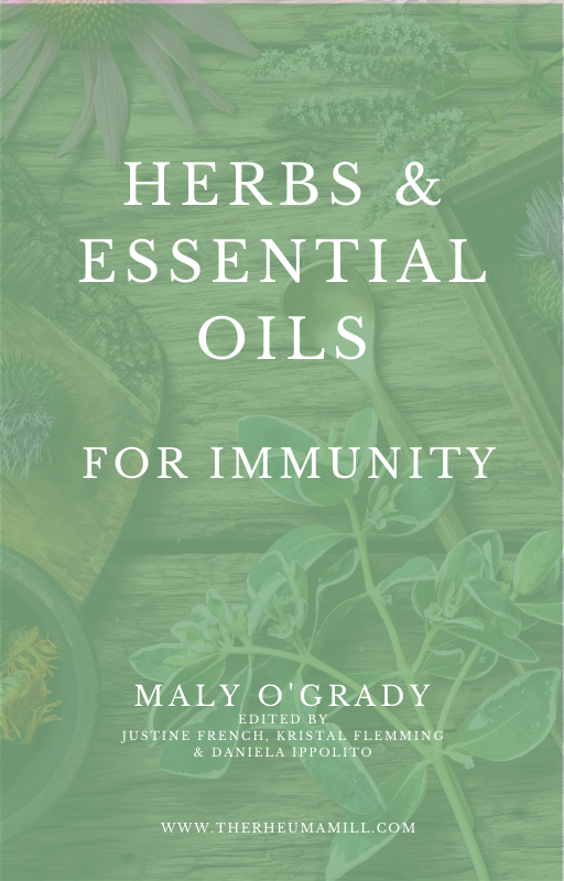 Natural remedies for autoimmune disease - herbs and essential oils for immunity