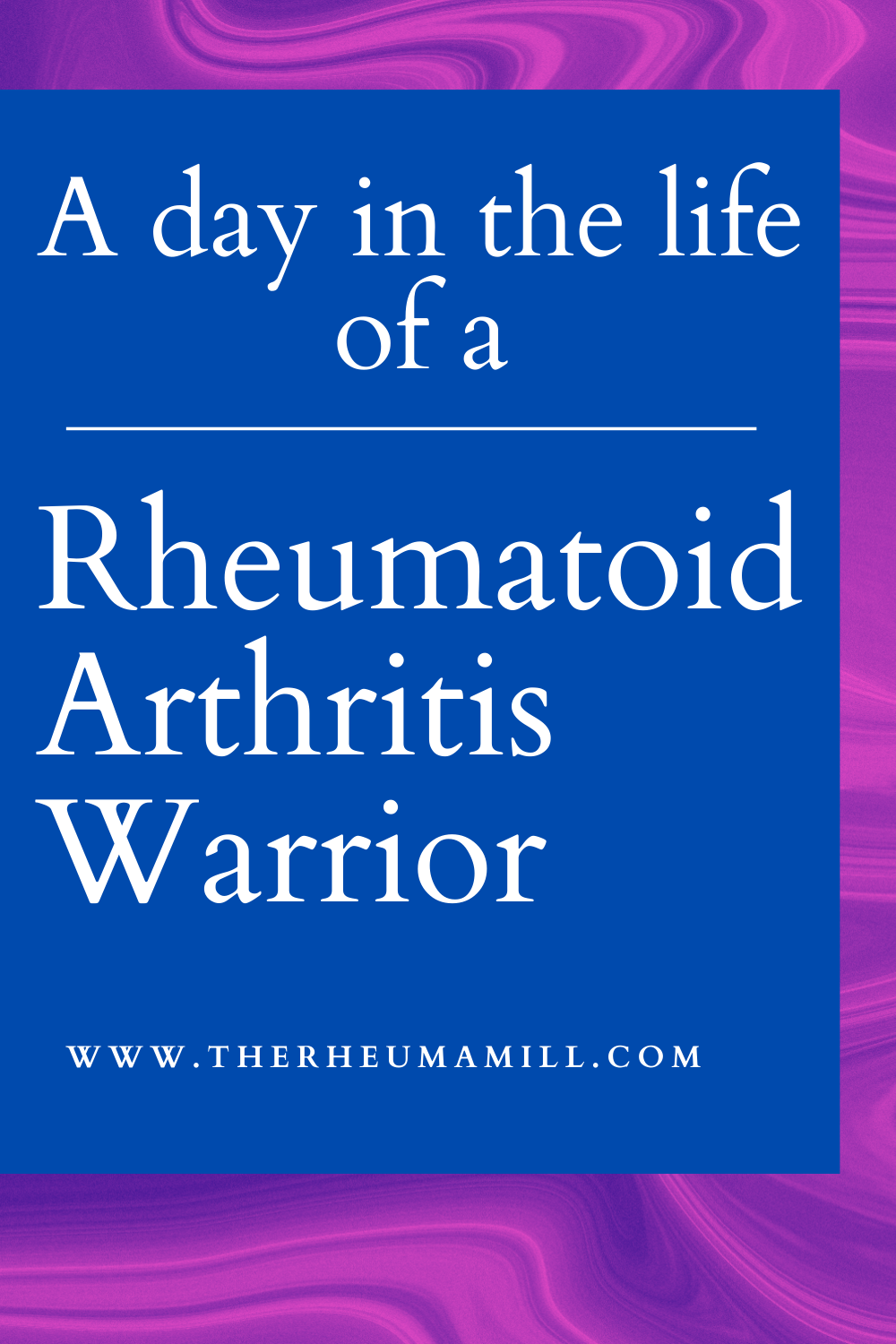 A day in the life of an RA Warrior